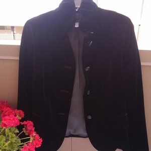 J. Crew velvet jacket